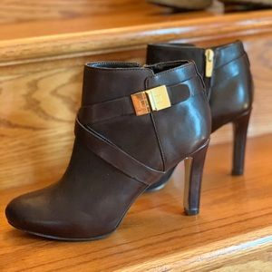 Marc Fisher Leather Ankle Boots